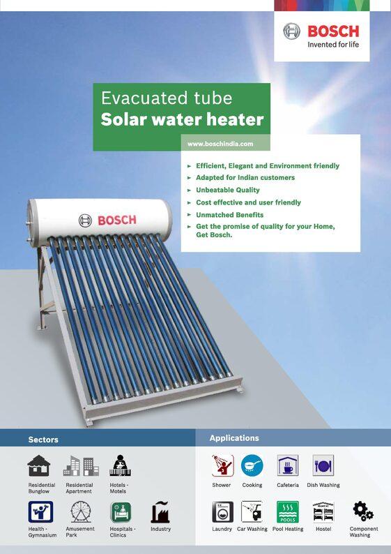 Bosch Solar Water Heater Bosch Solar Panels Bosch Solar